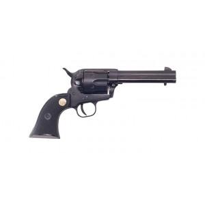 """Cimarron Plinkerton 22LR 4.75"""" Black Revolver"""