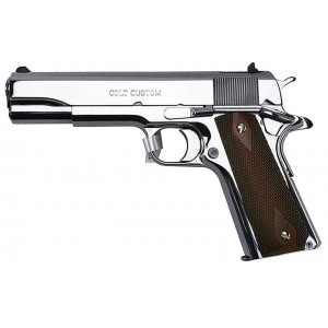 Colt Custom Government Mirror-Finish 45ACP Handgun