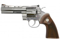"Colt Python 357MAG 4.25"" Stainless/Walnut Revolver"