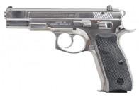 CZ-USA 75 B High Polished Stainless 9mm Handgun