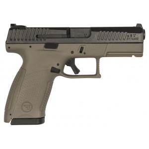 CZ USA P-10 C FDE 9mm Night Sight Handgun