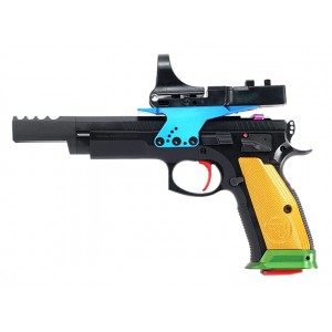 CZ USA 75 TS Czechmate Parrot 9mm C-More Handgun