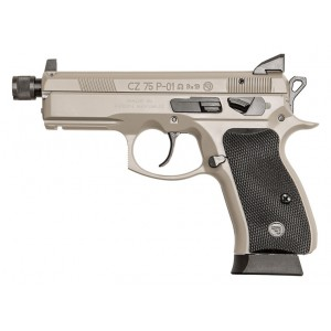 CZ P-01 9mm Omega Urban Grey Supppressor Ready Handgun