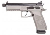CZ USA P-09 Urban Grey Suppressor Ready 9mm Handgun