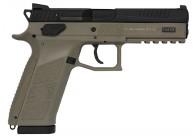 CZ P-09 9mm FDE 19rd Night Sight Handgun