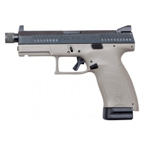 CZ USA P-10 C Urban Grey Threaded 9mm Handgun