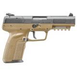 FNH USA Five-seveN FDE 5.7x28mm 20rd Handgun