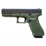 Glock 17 G4 Battlefield Green 9mm 17rd Handgun