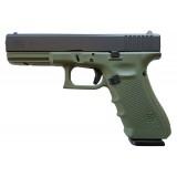 Glock 17 G4 Battlefield Green 9mm 17rd Handgun