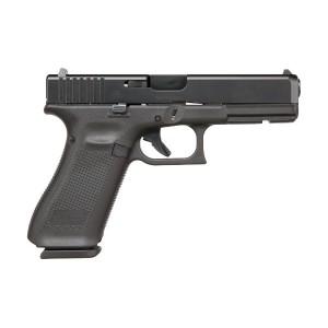 Glock 17 Gen5 9mm 17rd nDLC Black Handgun