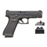 Glock 17 Gen5 9mm AmeriGlo Bold nDLC Handgun