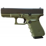 Glock 19 G4 Battlefield Green 9mm 15rd Handgun
