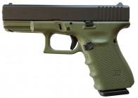 Glock 19 G4 Battlefield Green 9mm 15rd Handgun