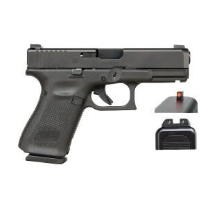 Glock 19 Gen5 9mm AmeriGlo Bold nDLC Handgun