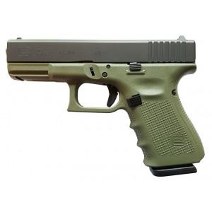 Glock 23 Gen4 Battlefield Green 40S&W 13rd Handgun