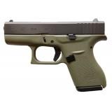 Glock 42 Battlefield Green 380ACP 6rd Handgun