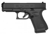 Glock 19 Gen5 FS 9mm 10rd nDLC Black Handgun
