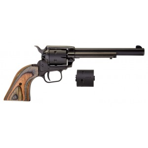 "Heritage Rough Rider 22LR/22MAG Satin Black 6.5"" Revolver"