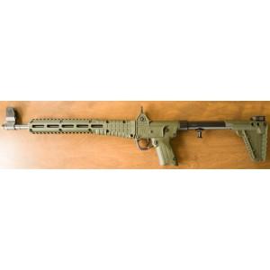 Kel-Tec SUB-2000 G2 Green 9MM Beretta92 17rd Mag Rifle