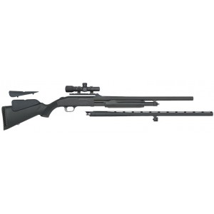 Mossberg 500 Field/Deer Combo 12ga Scoped Shotgun