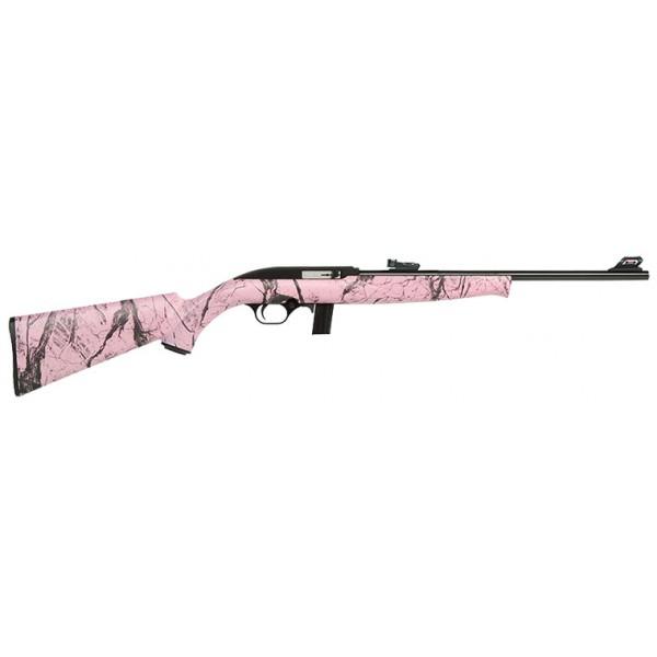 York Firearms Mossberg 702 Plinkster Pink 22lr Rifle