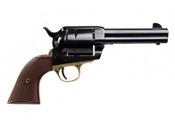 "Pietta 1873 Single Action 45LC 4.75"" Blue/Brass Revolver"