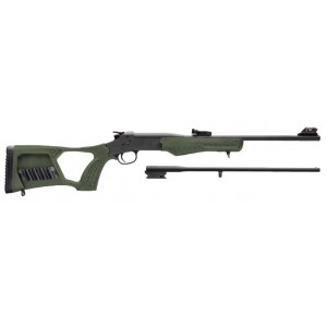 Rossi Matched Pair Youth (OD Green) 410/22LR Rifle