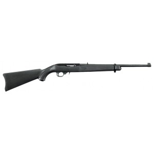 """Ruger 10/22 Black Synthetic 22LR 18.5"""" Rifle"""