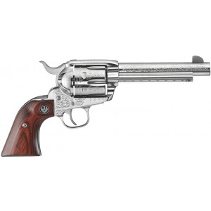 Ruger Vaquero 45COLT TALO Fully Engraved Stainless Revolver