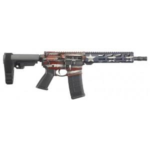 Ruger AR-556 5.56NATO American Flag Pistol