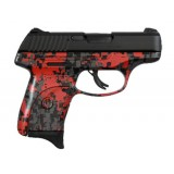 Ruger LC9S Digital Red Camouflage 9mm Handgun