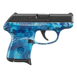 Ruger LCP 380ACP Kryptek Pontus 6rd Handgun
