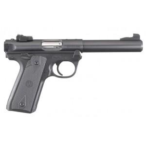 """Ruger Mark IV 22/45 Blued 22LR 5.5"""" 10rd Handgun"""