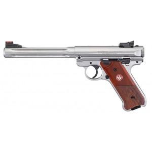 """Ruger Mark IV Hunter 7"""" SS 22LR Handgun"""