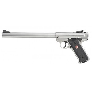 "Ruger Mark IV Target 22LR Stainless 10"" Handgun"