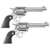 "Ruger SASS Vaquero 45COLT 5.5"" Matched-Pair Revolvers"