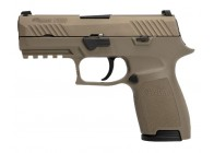Sig Sauer P320 FDE Compact 9mm SIGLITE Handgun