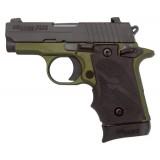 Sig Sauer P238 Army Green 380ACP SIGLITE Handgun