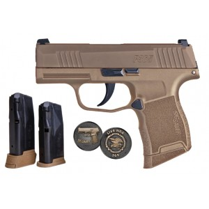 Sig Sauer P365 NRA Coyote 9mm Night Sight Handgun