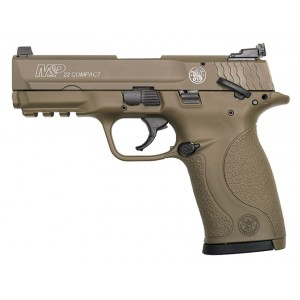 Smith & Wesson M&P22 Compact 22LR Full-FDE Handgun