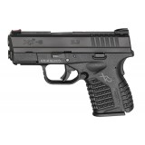 "Springfield XD-S 9mm 3.3"" Black Handgun"