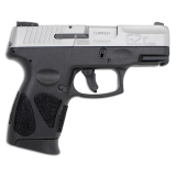Taurus G2C Stainless/Black 9mm 12rd Handgun
