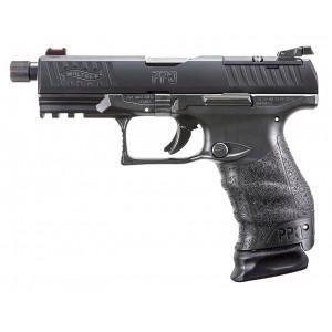 Walther PPQ Q4 TAC 9mm 17r Suppressor/Optic Ready Handgun