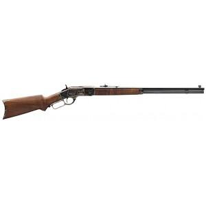 Winchester 1873 Sporter Octagon Case-Color 44-40WIN Rifle